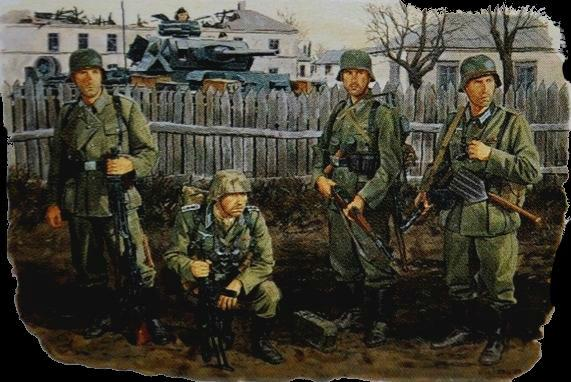 Dragon 1/35 Approach to Stalingrad Soldiers Autumn 1942 (4) Kit