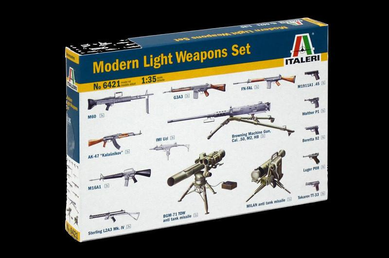 Italeri Military 1/35 Modern Light Weapons Kit