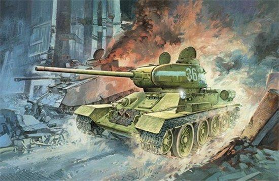 Dragon Military 1/72 T-34/85 Mod.1944 Kit