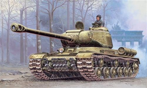 Italeri Military 1/72 JS2M Stalin Heavy Tank Kit
