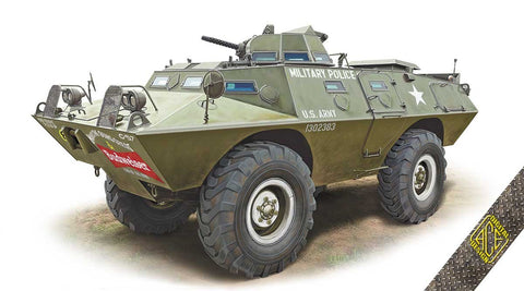 Ace 1/72 XM706E1 (V100) Commando Armored Patrol Car Kit