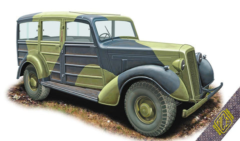 Ace 1/72 Super Snipe Military Station Wagon Kit