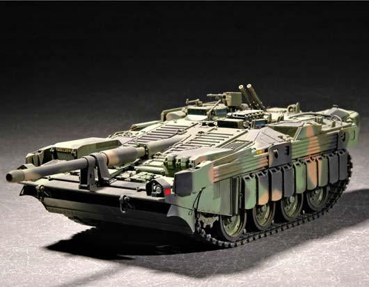 Trumpeter Military Models 1/72 Swedish Strv 103C Main Battle Tank Kit