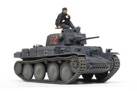 Tamiya 1/35 German PzKpfw 38(t) Aust E/F Light Tank Kit