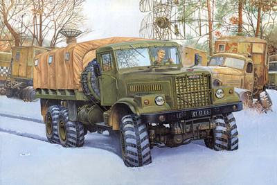 Roden Military 1/35 KrAZ255B Off-Road Transport Military Truck Kit