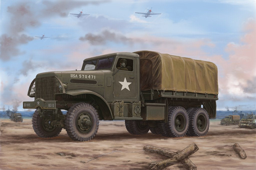 Hobby Boss 1/35 US White 666 Cargo HT Kit