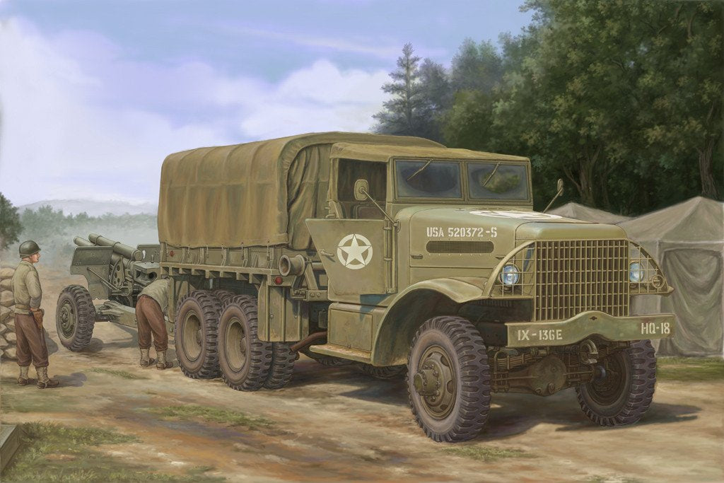 Hobby Boss 1/35 US White 666+ Cargo Truck Kit