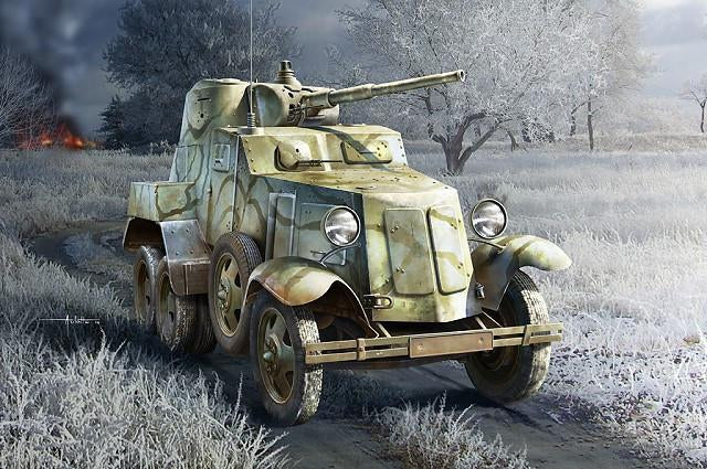 Hobby Boss 1/35 Soviet BA-10 Armored Car Kit