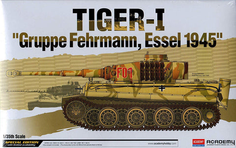 Academy Military 1/35 Tiger-I Gruppe Fehrmann Kit