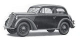 Ace 1/72 Olympia Model 1937 Saloon Staff Car Kit