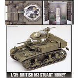 Academy 1/35 British M3 Stuart Honey Tank Kit
