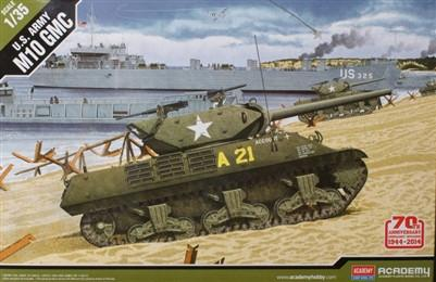 Academy 1/35 M10 GMC US Army Destroyer Normandy Invasion Kit