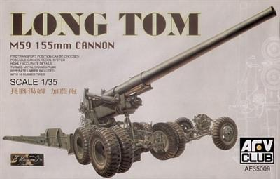 AFV Club 1/35 M59 155mm Long Tom Gun Kit