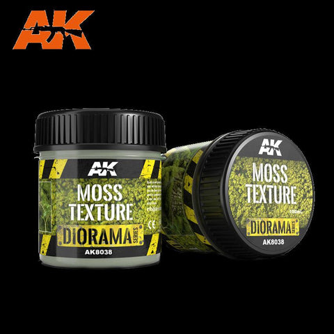 AK Interactive Diorama Series: Moss Texture 100ml Bottle