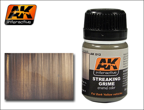 AK Interactive Streaking Grime Enamel Paint 35ml Bottle