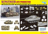 Dragon Military 1/35 Kingtiger Late Production w/New Pattern Track s.Pz.Abt.506 Ardennes 1944 Smart Kit