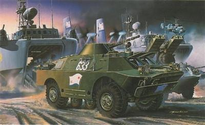 Dragon Military 1/35 Soviet BRDM2 4x4 Scout Vehicle (Re-Issue) Kit