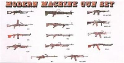 Dragon Military 1/35 Modern Machine Gun Set (28) Kit