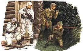 Dragon 1/35 German Snipers (4) Kit