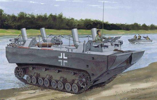 Dragon Military 1/35 Land-Wasser-Schlepper I Kit