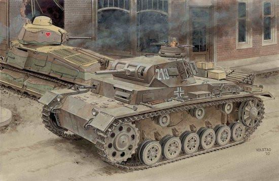 Dragon Military 1/35 PzKpfw III Ausf E Tank Blitzkrieg Battle of France Smart Kit