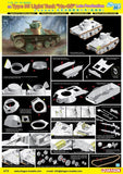 Dragon 1/35 IJA Type 95 Light Ha-Go Late Tank Kit