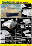 Dragon Military 1/35 PzBeobWg Panther Ausf D Early Production Tank Kit