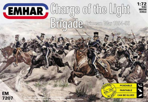 Emhar Military 1/72 Crimean War 1854-56 Charge of the Light Brigade (18 Mounted) Kit