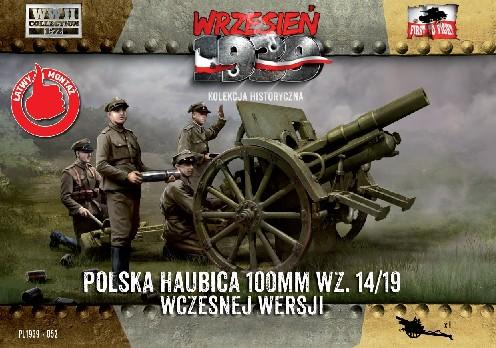 First To Fight 1/72 WWII 100mm Polish wz14/19 Early Version Howitzer Kit