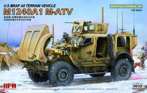 Rye Field 1/35 US Army M-ATV M1240A1 Kit
