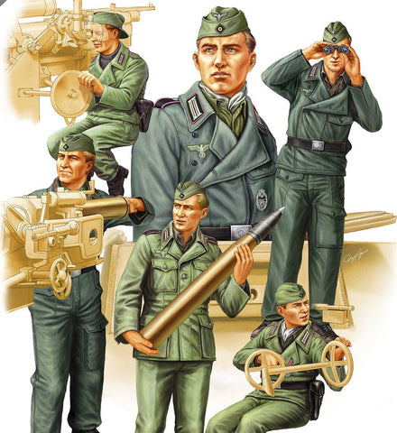 Hobby Boss Military 1/35 German SPG Crew Vol. 2 Kit
