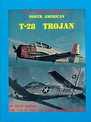 Ginter Books - Naval Fighters: North America T28 Trojan