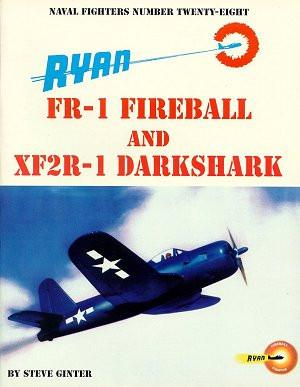 Ginter Books - Naval Fighters: Ryan FR1 Fireball & SF2R1 Darkshark