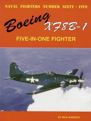 Ginter Books - Naval Fighters: Boeing XF8B-1 5-in-1 Fighter