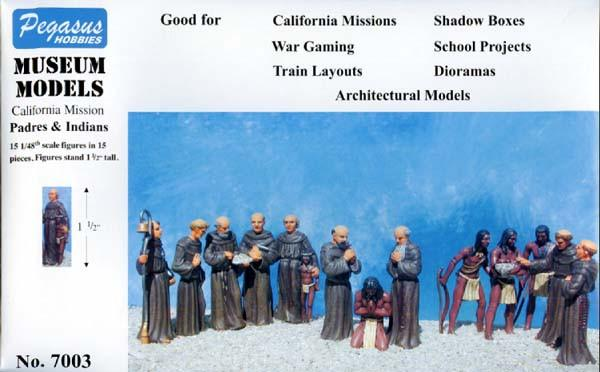Pegasus Military 1/48 California Mission Padres & Indians (15)
