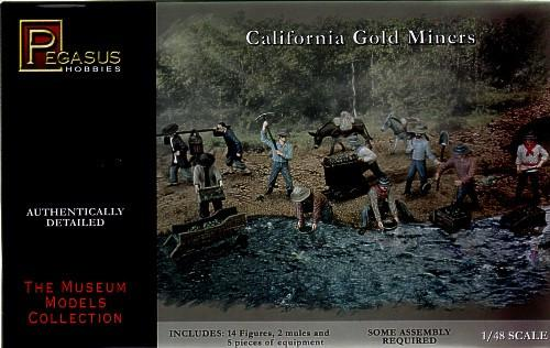 Pegasus Military 1/48 California Gold Miners (14)
