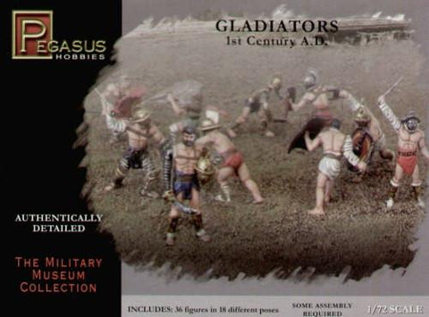 Pegasus Military 1/72 Gladiators 1st Century AD (36)