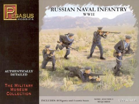 Pegasus Military 1/72 Russian Naval Infantry WWII (40)
