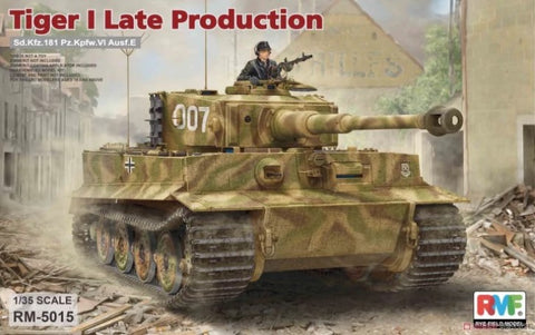 Rye Field 1/35 Tiger I Late Kit