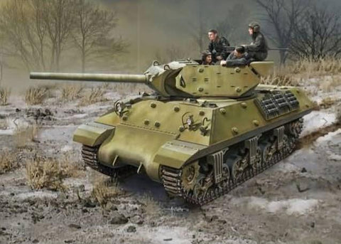 Academy Military 1/35 USSR M10 Lend-Lease Tank Destroyer Kit
