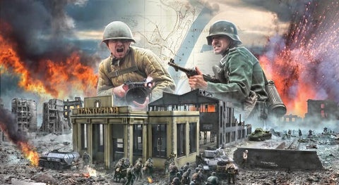 Italeri 1/72 WWII Stalingrad Siege Uranus Operation Battle Diorama Set