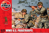 Airfix 1/72 WWII US Paratroops Figure Set (48)