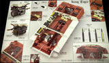 Takom 1/35 WWII German King Tiger SdKfz 182 Pzbt505 Henschel Turret Heavy Tank w/Zimmerit & Interior Special Edition Kit