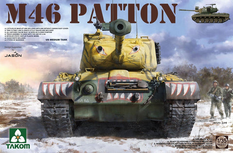 Takom 1/35 US M46 Patton Medium Tank Kit