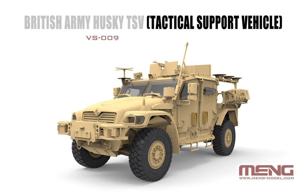 Meng 1 35 Husky Tsv British Army Tactical Support Vehicle New Tool K Military Model Depot