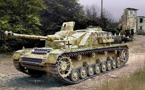 Academy Aircraft 1/35 German StuG IV SdKfz 167 Early Version Tank Kit