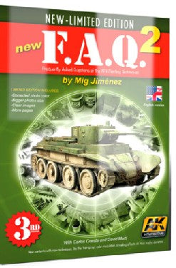 AK Interactive FAQ 2 AFV Painting Techniques 3rd Edition Book