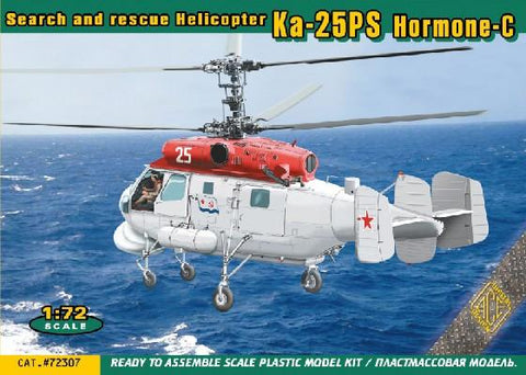 Ace Aircraft 1/72 Ka25PS Hormone-C Search & Rescue Helicopter Kit