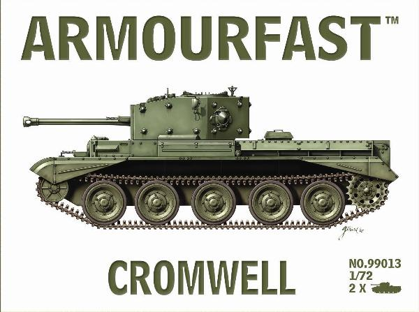 Armourfast Military 1/72 Cromwell Tank (2) Kit