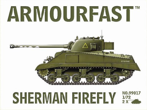 Armourfast Military 1/72 Sherman Firefly Tank (2) Kit